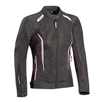 Ixon Cool Air Lady Jacket Black Pink