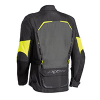 Ixon Crosstour Hp Jacket Black Grey Yellow