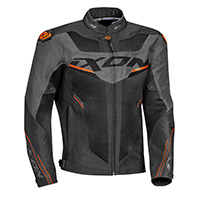 Ixon Draco Jacket Black Anthracite Orange