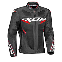 Ixon Draco Jacket Black White Red