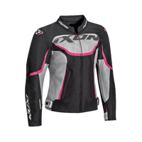 Ixon Sprinter Air Lady Jacket Gray Fuchsia