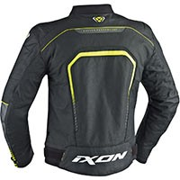 Ixon Fighter Jacket Black White Yellow Fluo