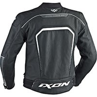 Ixon Fighter Jacket Black White