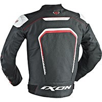 Ixon Fighter Jacket Black White Red
