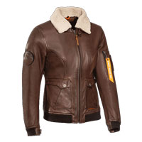 Ixon Havoc Lady Leather Jacket Brown