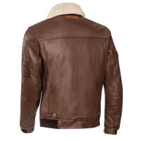 Ixon Havoc Leather Jacket Brown