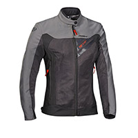 Ixon Orion Lady Jacket Anthracite Grey Red