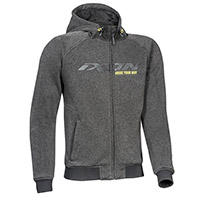 Ixon Palermo Hoodie Anthracite Black Yellow