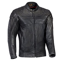 Ixon Pioneer Leather Jacket Brown Black