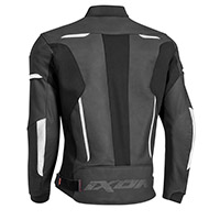Ixon Rhino Leather Jacket Black White