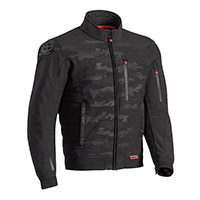 Ixon Soho Jacket Black Camo