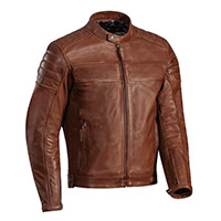 Ixon Spark Leather Jacket Brown