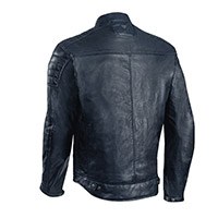 Ixon Spark Leather Jacket Navy