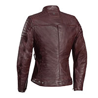 Ixon Spark Lady Leather Jacket Bordo