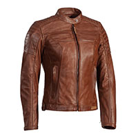 Ixon Spark Lady Leather Jacket Camel