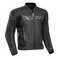 Ixon Sparrow Leather Jacket Black