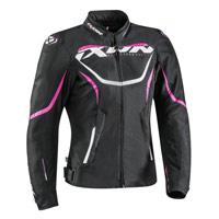 Ixon Sprinter Lady Jacket Black Fuchsia
