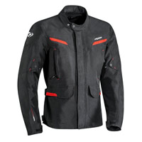 Ixon Summit 2 Jacket Black Red