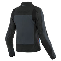 Dainese Lola 3 Leather Jacket Black Red Blue Lady