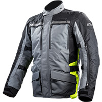 Ls2 Lance Jacket Black Grey Fluo Yellow