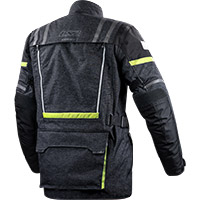 Ls2 Nevada Jacket Black Hi-vis Yellow