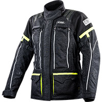 Ls2 Nevada Lady Jacket Black Hi-vis Yellow