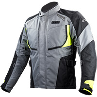 Ls2 Phase Jacket Grey Fluo Yellow