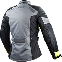 Ls2 Phase Lady Jacket Grey Fluo Yellow