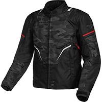 Macna Adept Jacket Black Red