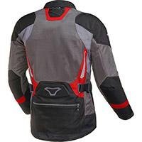 Macna Aerocon Jacket Grey Red