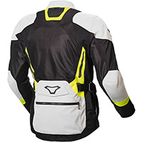 Macna Aerocon Night Eye Jacket Grey Yellow