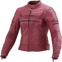 Macna Daisy Lady Leather Jacket Red