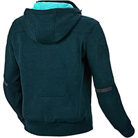 Macna District Lady Hoodie Blue