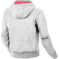 Macna District Lady Hoodie Light Grey