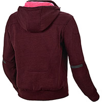 Macna District Lady Hoodie Dark Red