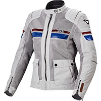 Macna Fluent Lady Jacket Grey Blue Red