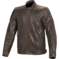 Macna Lance Leather Jacket Brown
