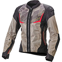 Macna Orcano Lady Jacket Olive Red