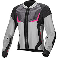 Macna Orcano Lady Jacket Light Grey Pink