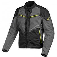 Macna Solute Jacket Grey Yellow