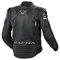 Macna Tracktix Leather Jacket Black
