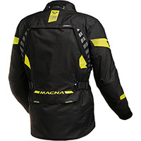 Macna Ultimax Jacket Black Yellow