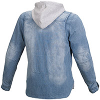 Sudadera Macna Westcoast azul claro gris