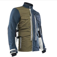 Ottano Adventuring Jacket Blue Green