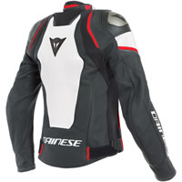 Dainese Racing 3 D-air® Lady Leather Jacket Red