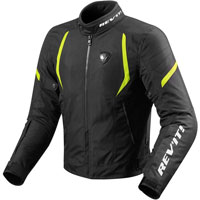 Rev'it Jacket Jupiter 2 Black-fluo Yellow