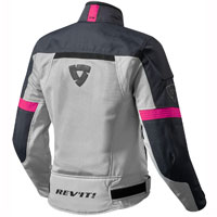 Rev'it Airwave 2 Ladies Silver Fuchsia