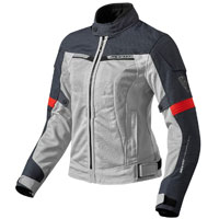 Rev'it Airwave 2 Ladies Grigio Rosso Donna