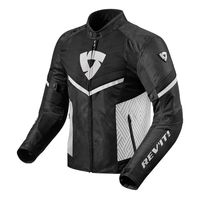 Rev'it Arc Air Jacket Black White