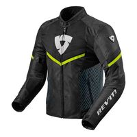 Rev'it Arc Air Jacket Black Yellow